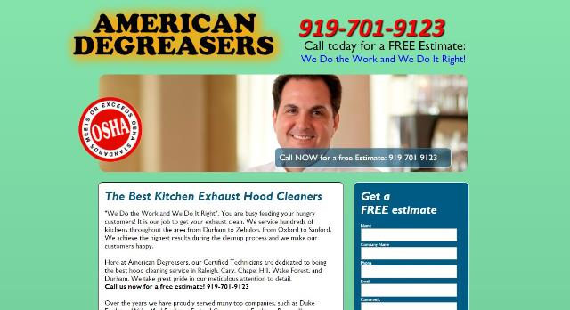 click to view www.americandegreasers.com in   a new tab